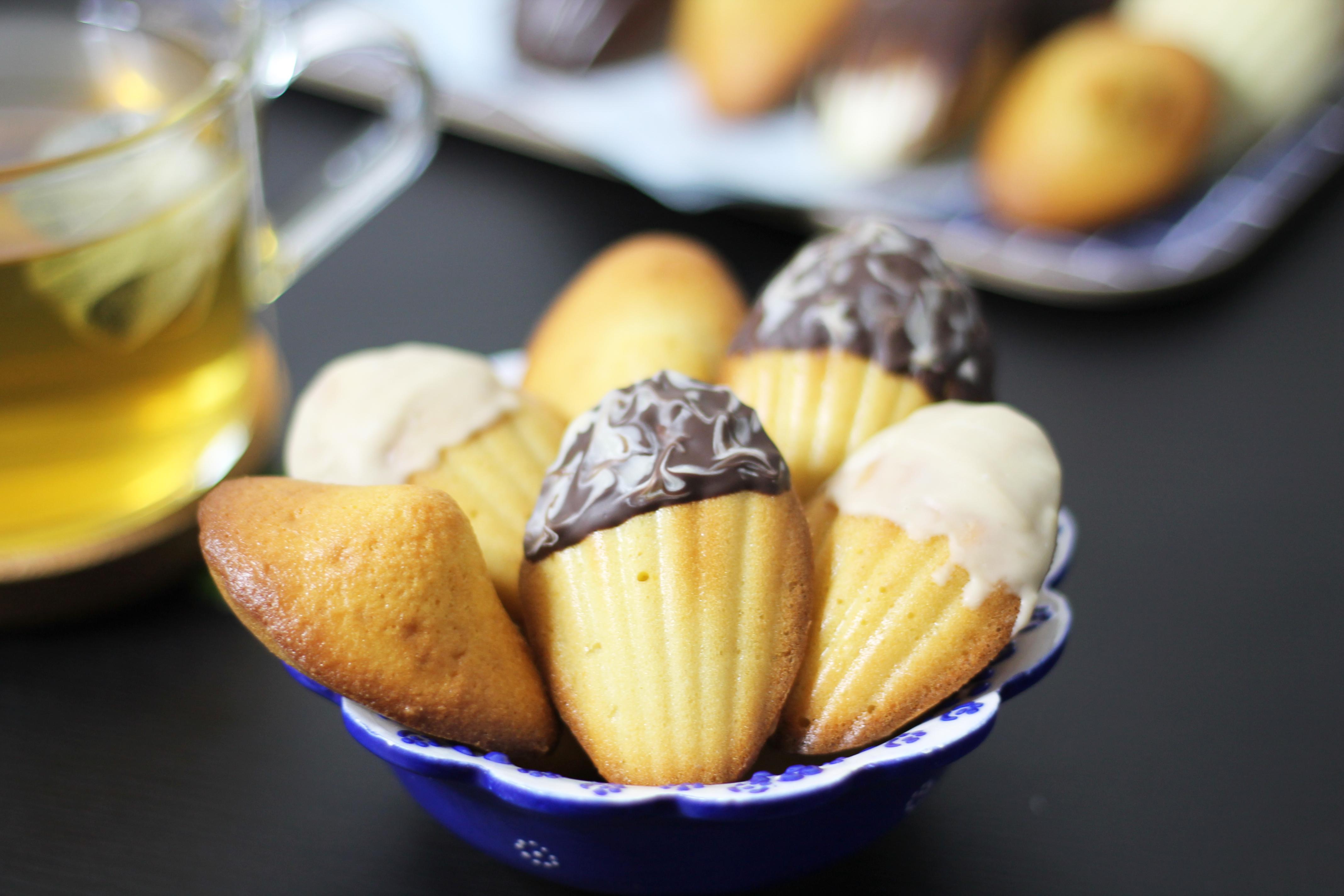 Madeleines avec coque au chocolat by fannyalbx.com