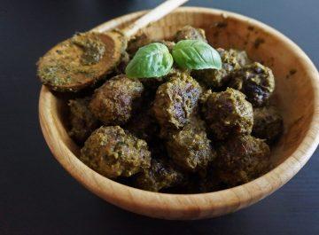 Recette des boulettes au pesto par fannalbx.com - blog cuisine