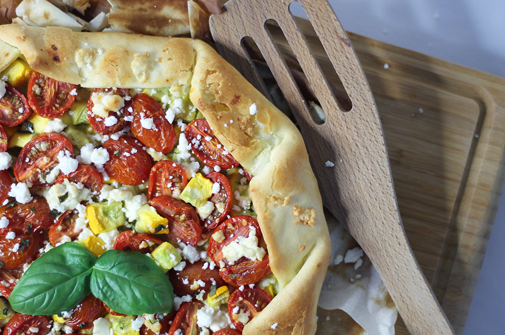 Tarte ensoleillée aux legumes par fannyalbx.com
