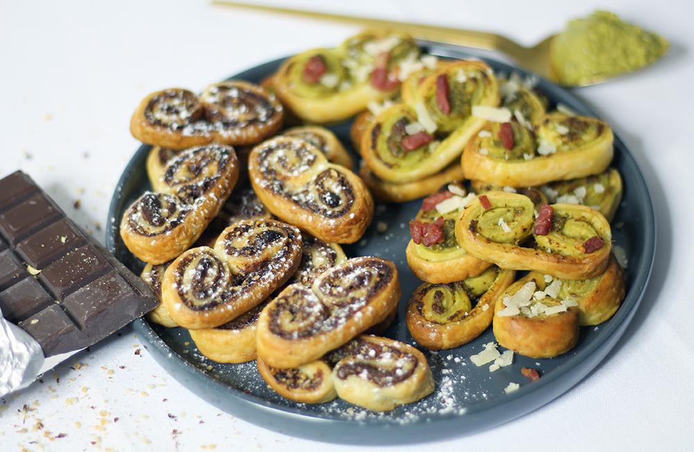 Palmitos sucrés et salés sur fannyalbx.com
