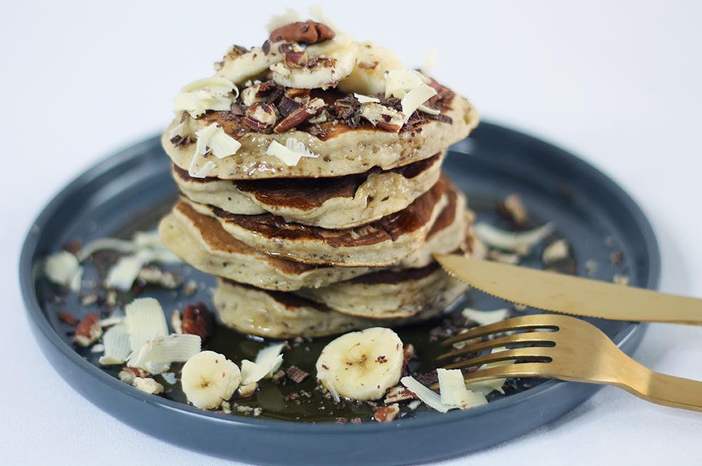 Recette des pancakes à la banane par fannyalbx.com