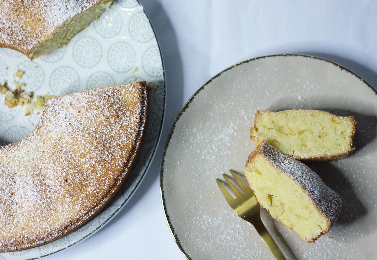 Recette du gâteau italien au citron et à la crème sur fannyalbx.com