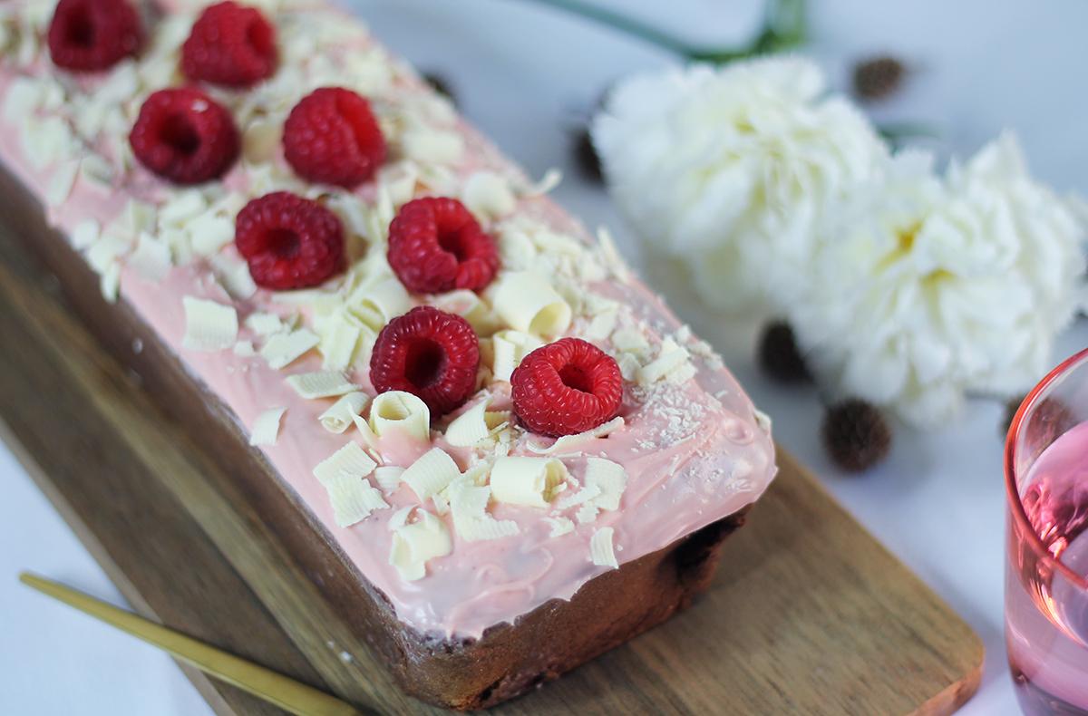 Octobre rose gâteau - recette sur fannyalbx.com
