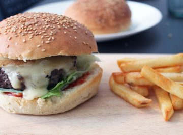 Recette pain burger sur fannyalbx.com